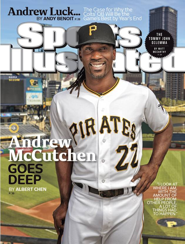 d85a4e086f5 Pirates outfielder Andrew McCutchen on this week s Sports ...