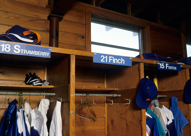 Finch has yet to visit the St. Petersburg clubhouse, where the Mets have given him a cubicle between two of their best players.
