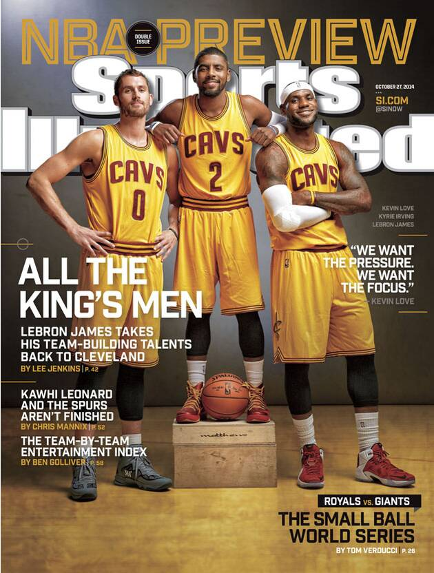b8cd14806fb5 SI cover  NBA preview  King James and the Cavs take center stage ...