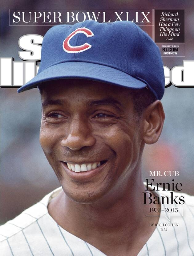 Chicago Cubs legend Ernie Banks on this week's SI Cover | SI com