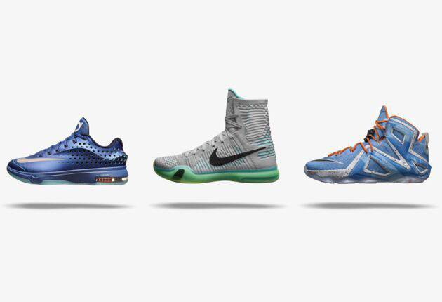 the latest 2e8a4 60c47 Courtesy of Nike. . All three sneakers have ...