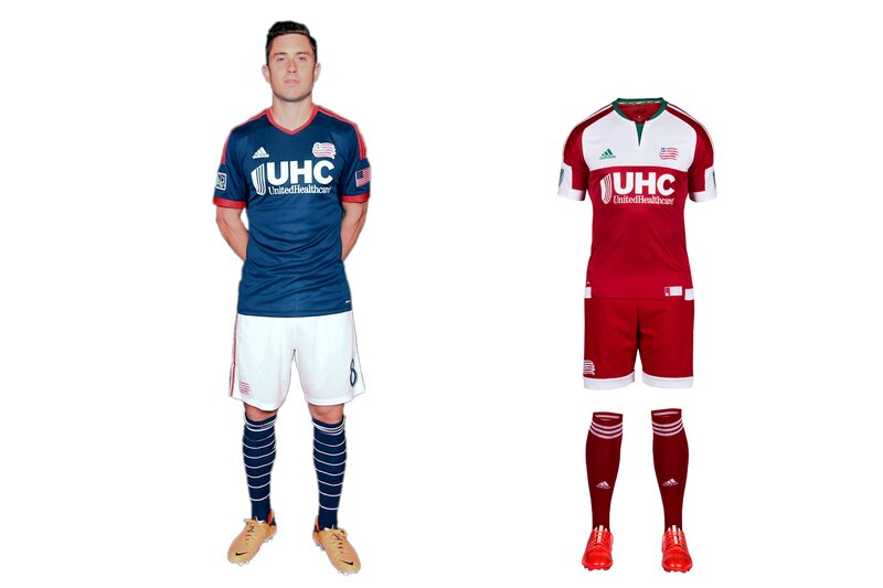 The Revs are Exhibit A for the effect a second color, even if it comes from something as mundane as a plain pair of shorts, has on a club's brand. Long a believer in boring, N.E. last year overhauled its home blues with white shorts and hooped socks. It's a classy yet instantly recognizable look. The image shake-up continued Tuesday with a new secondary kit inspired by the regional flag flown during the American Revolution. The red-and-white set is clunky and geometric, but it's different, daring and local. Better to take a chance than look dull and anonymous.