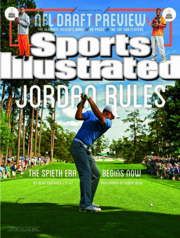 Jordan Spieth on Sports Illustrated cover after Masters victory  1c70f34c6ea2