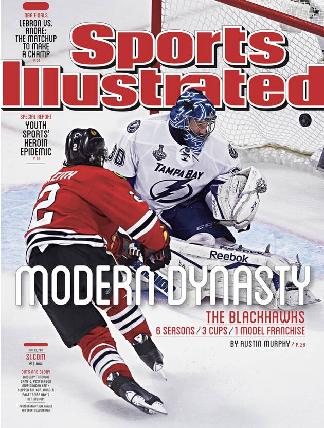 Sports Illustrated cover  Chicago Blackhawks win Stanley Cup  07b72c116fb0