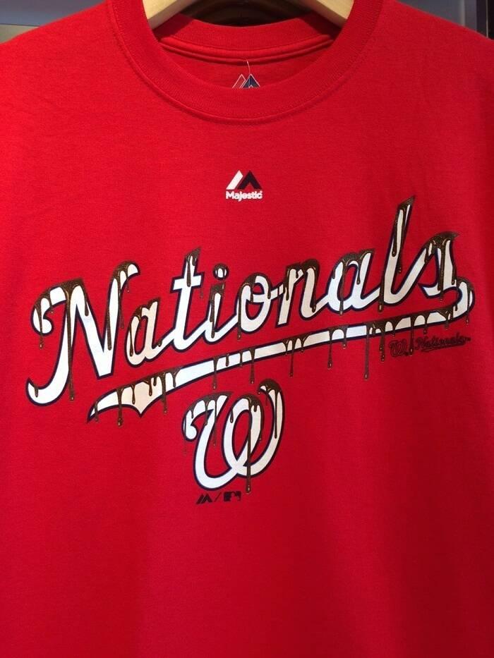 Washington Nationals chocolate-covered Bryce Harper T-shirt  4da80a032
