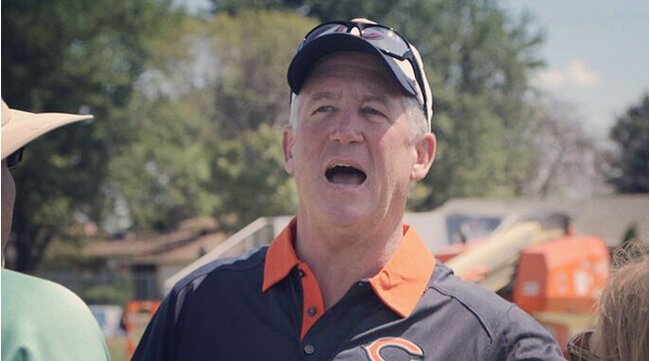 Chicago Bears head coach John Fox takes on his third head coaching job-  will he