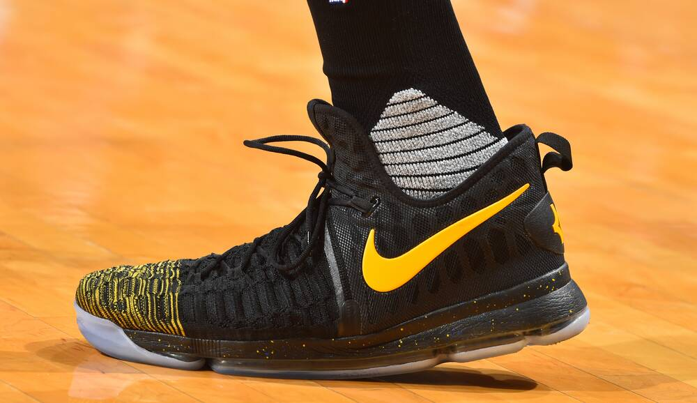 ec90bf8628849e Nike Zoom KD 9 worn by Kevin Durant
