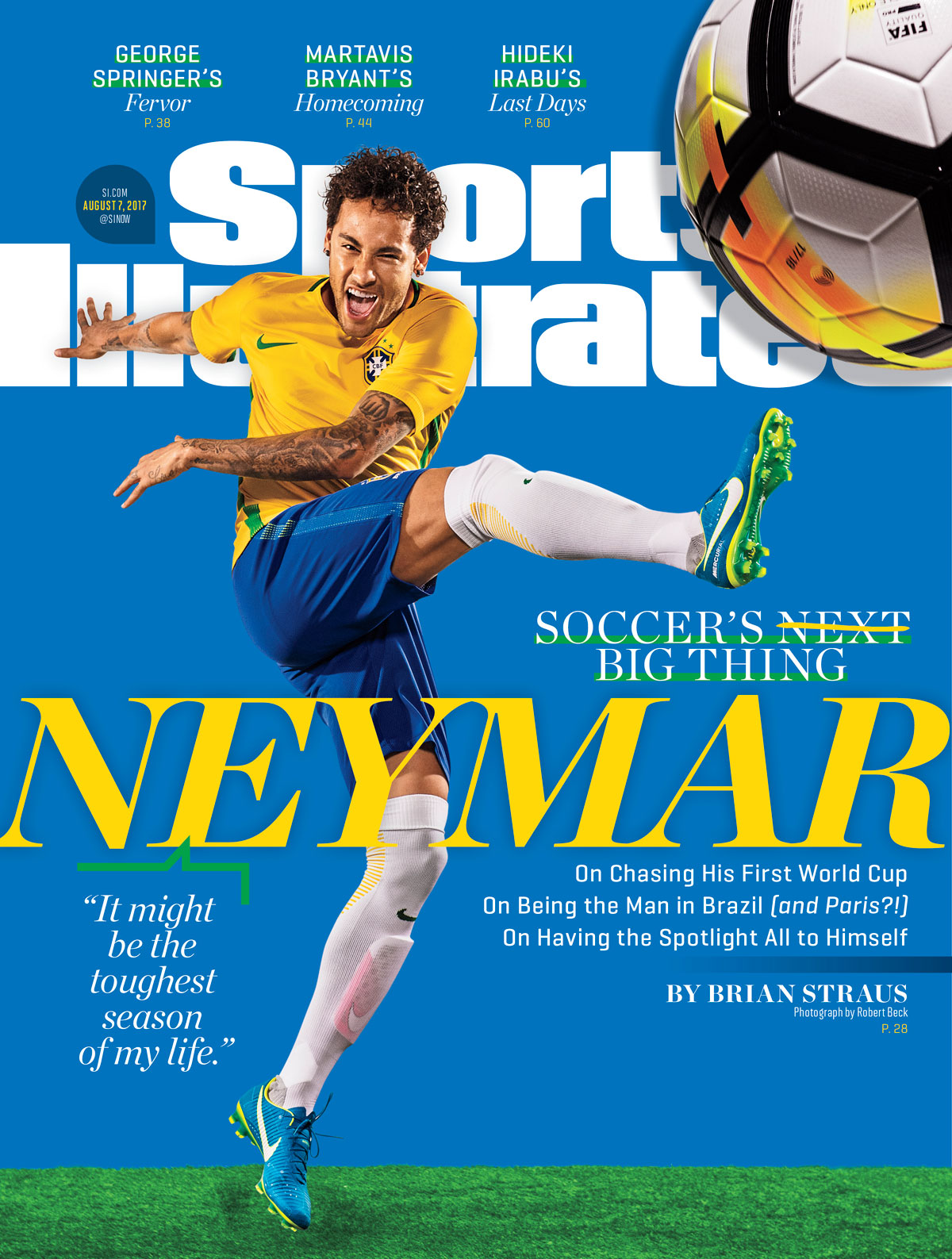 Into the Spotlight: It's Neymar's Time to Complete His Rise to Royalty