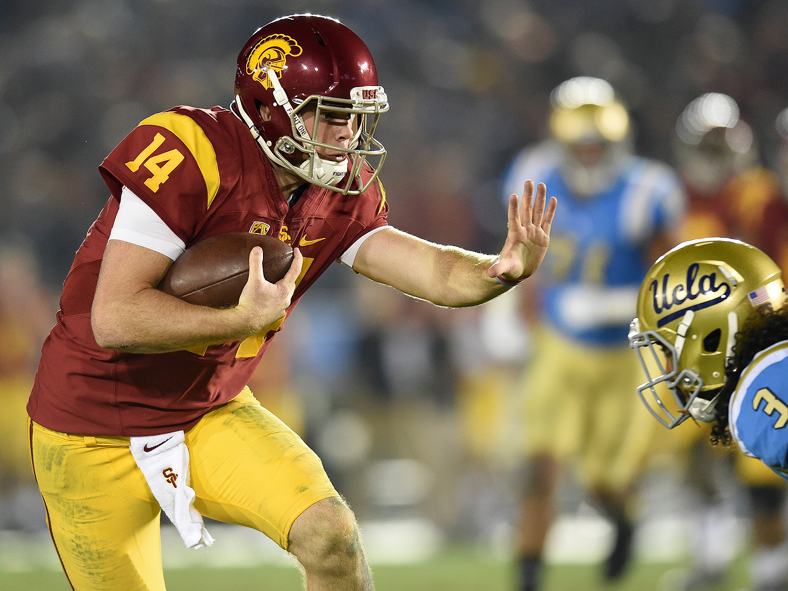 After an impressive close to a season he started on the bench, Darnold is on this year's Heisman Trophy short list.