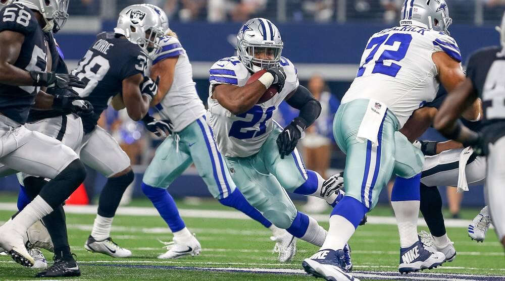 658fd51cf98 Will Ezekiel Elliott be in the backfield for the Cowboys in Week 1, Week 7