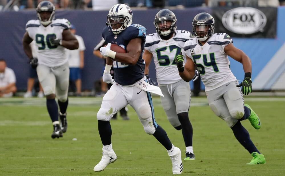 The Seahawks defense spent most of Sunday trailing in pursuit of DeMarco  Murray and the Titans 054446bf9