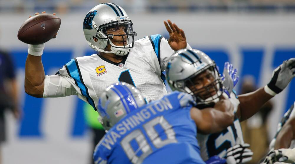 eee6d47ff Cam Newton has now thrown for three touchdowns in back-to-back weeks