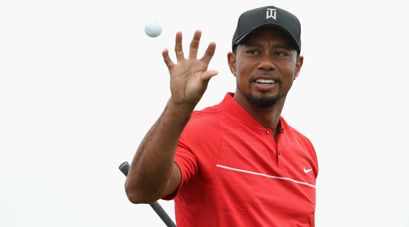 Tiger Woods during the final round of the 2016 Hero World Challenge
