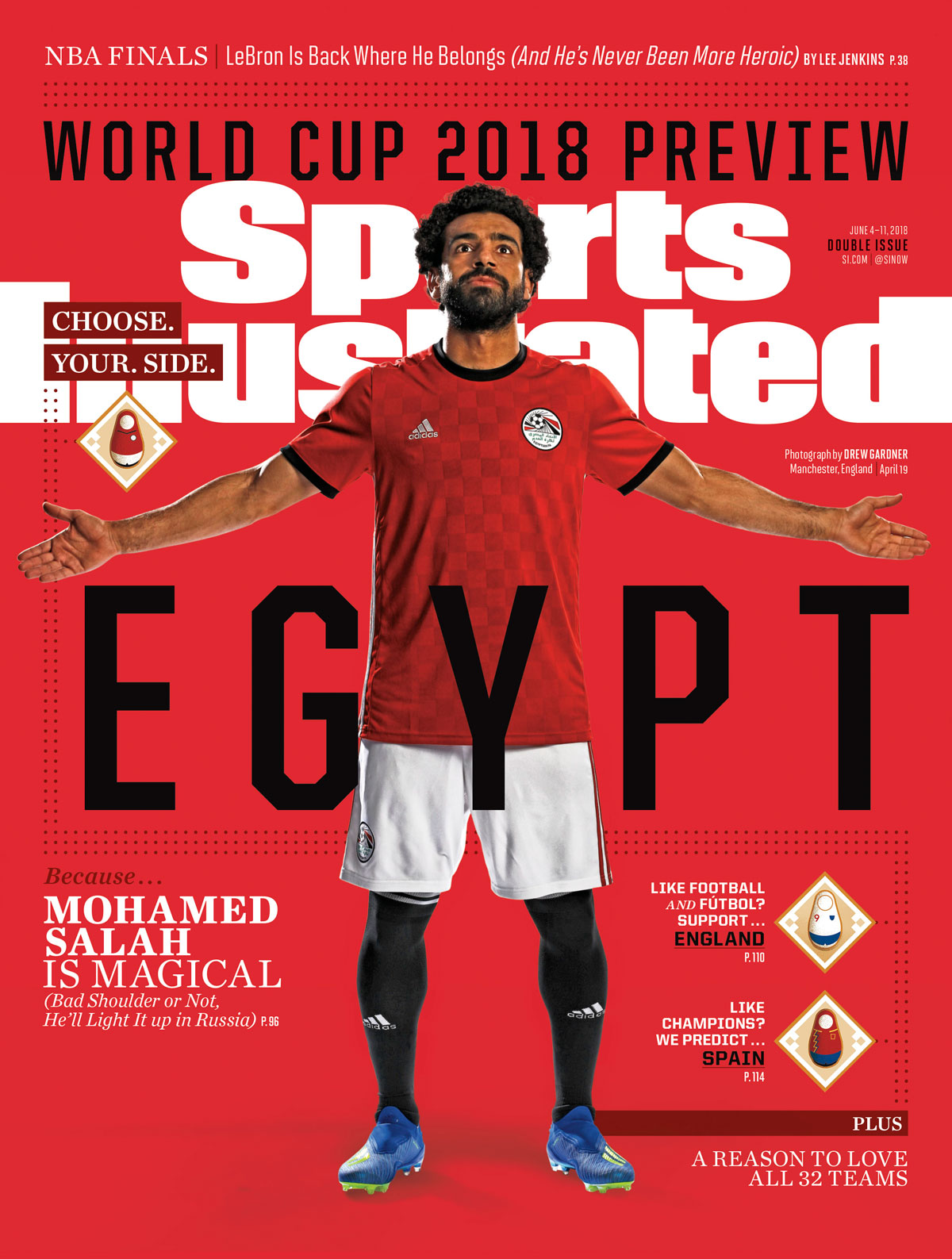 Mohamed Salah has led Egypt to its first World Cup since 1990