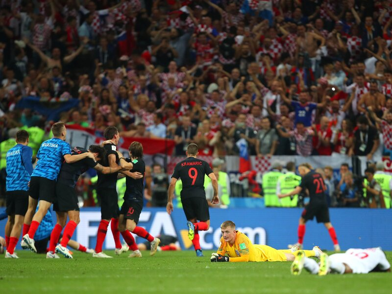 Croatia beats England to reach the World Cup final