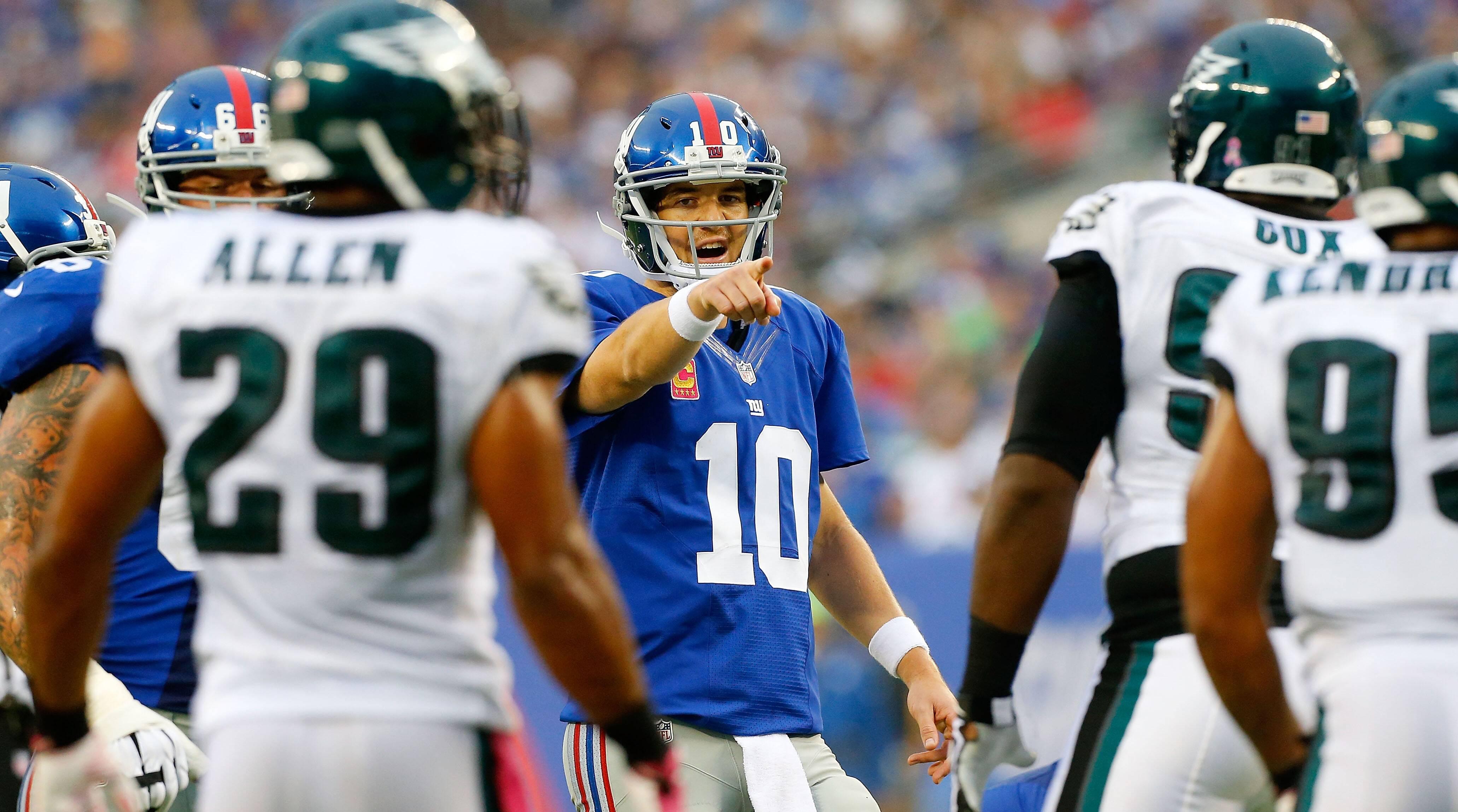 Eli Manning On Eagles Fans Trash Talk It S A Different