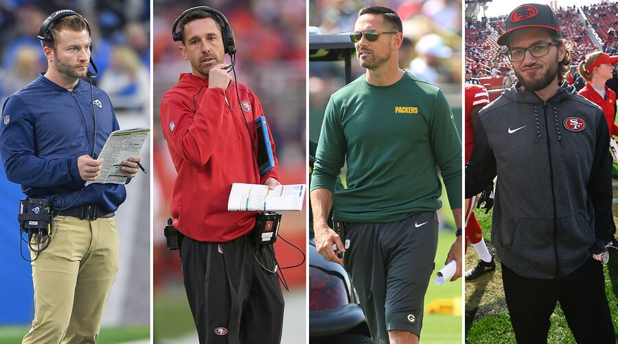 McVay and Kyle Shanahan have established themselves as head coaches in the NFC West, while Matt LaFleur is the new guy in Green Bay and McDaniel serves as one of Shanahan's co-offensive coordinators.