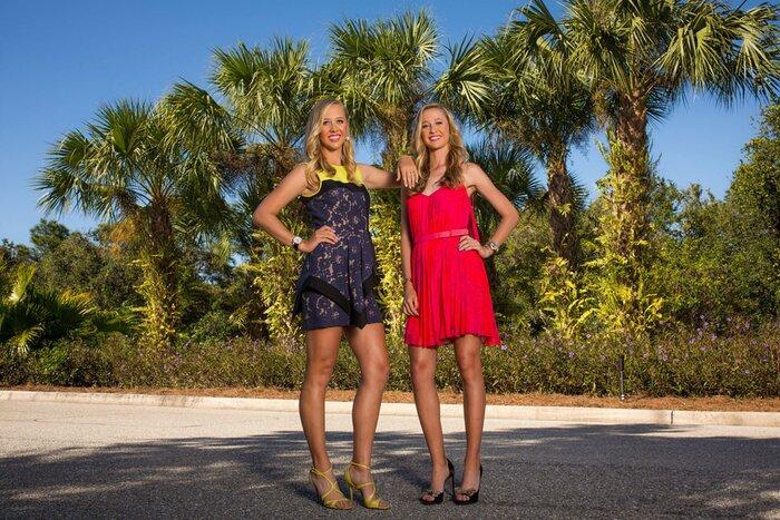 Image result for Korda sisters together