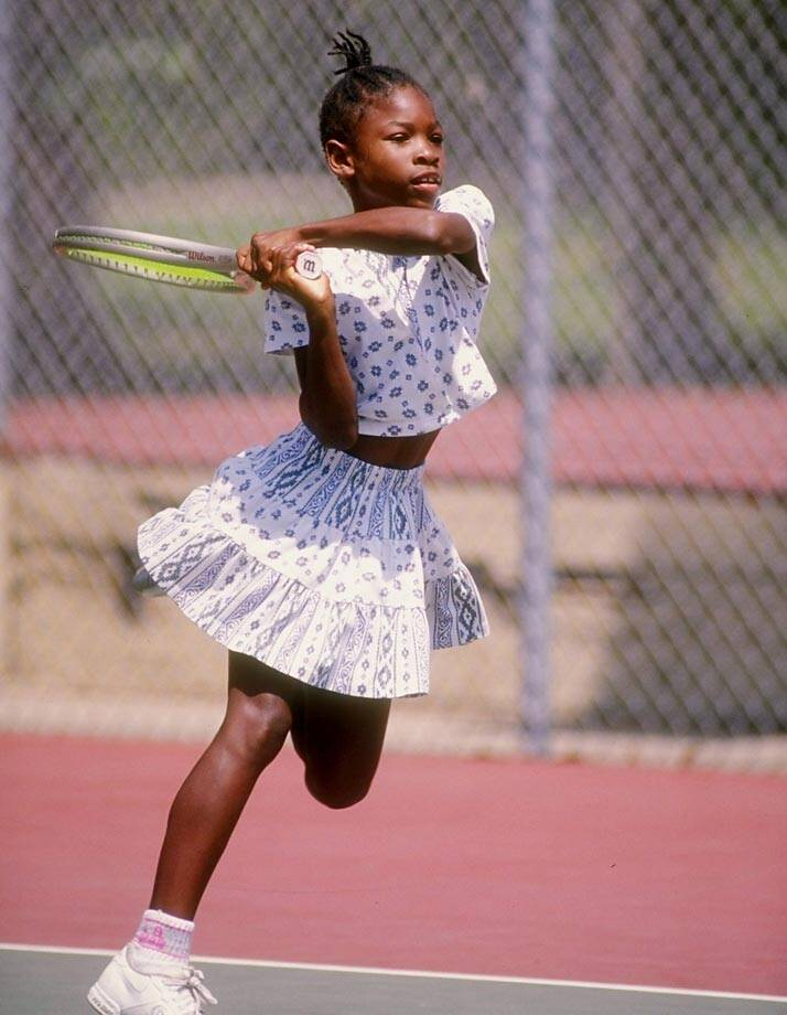 3fdfeca8689 Classic Photos of Serena Williams