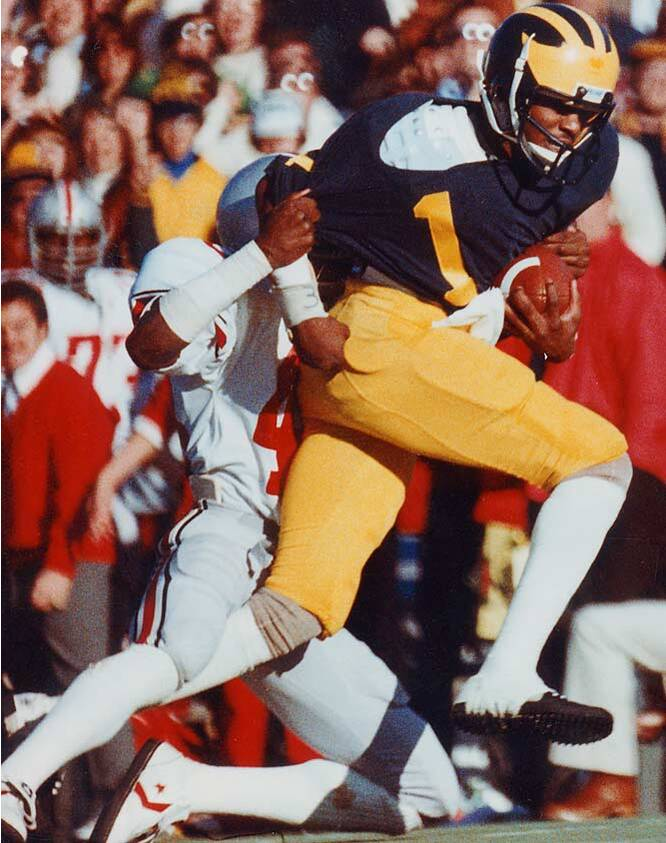 01801fd61 The most exciting football player I ve ever seen. That s how Michigan coach  Lloyd