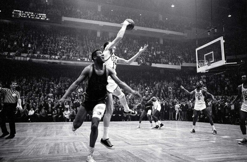 """""""Havlicek stole the ball!"""" Celtics broadcaster Johnny Most's call describing the final seconds of Game 7 of the Eastern Division Finals is one of the most memorable in NBA history. Boston held on to a 110-109 victory over the Philadelphia 76ers after John Havlicek tipped Hal Greer's inbounds pass, intended for Chet Walker, toward teammate Sam Jones. The Celtics would go on to win their seventh consecutive NBA title, defeating the Lakers in five games."""