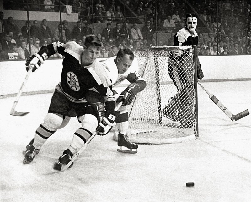 A swift, almost effortless skater and brilliant playmaker, Bobby Orr began revolutionizing the game by posting offensive numbers unprecedented for a backliner.