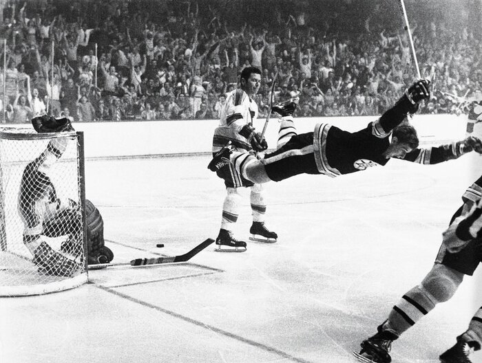 It Is Without Doubt The Most Iconic Image In Hockey History Bobby Orr
