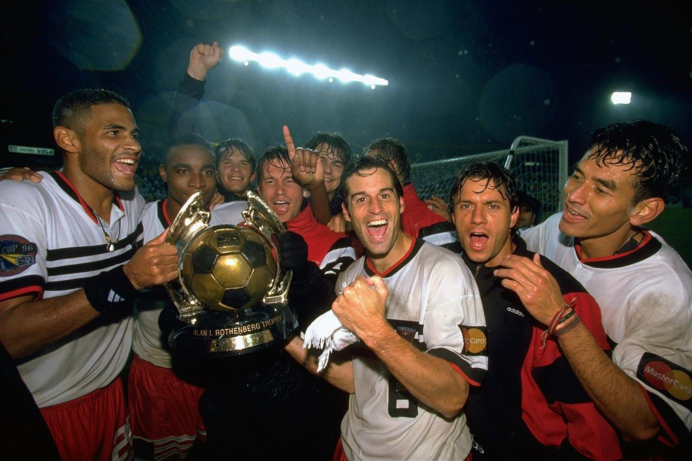 Znalezione obrazy dla zapytania dc united 1996 mls cup