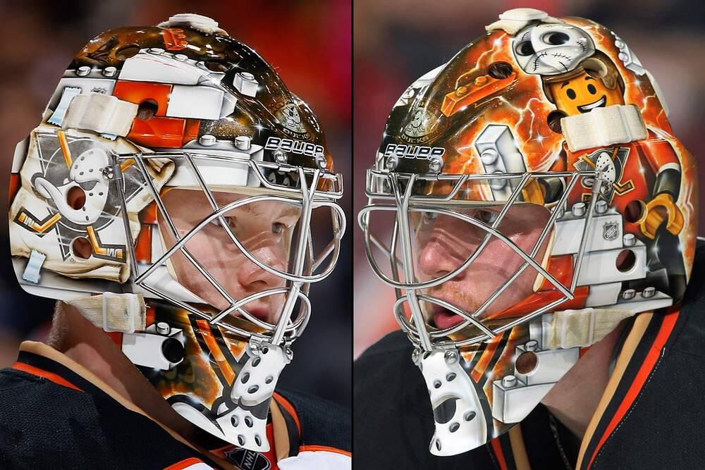 NHL Goalie Masks by Team (2014-15)  68ed6ac8c