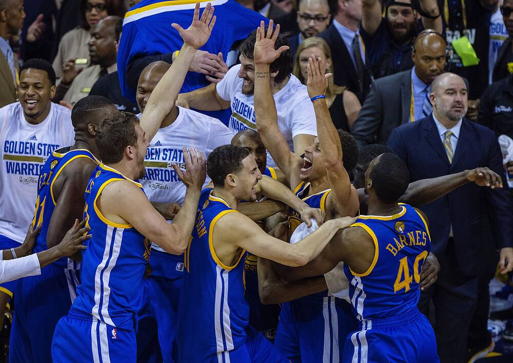 1b1d5654930 The Golden State Warriors won Game 6 of the NBA Finals 105-97 over the