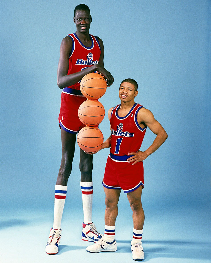 Tied For Tallest Player In Nba History Bol Led The Nba In Blocked S S Twice
