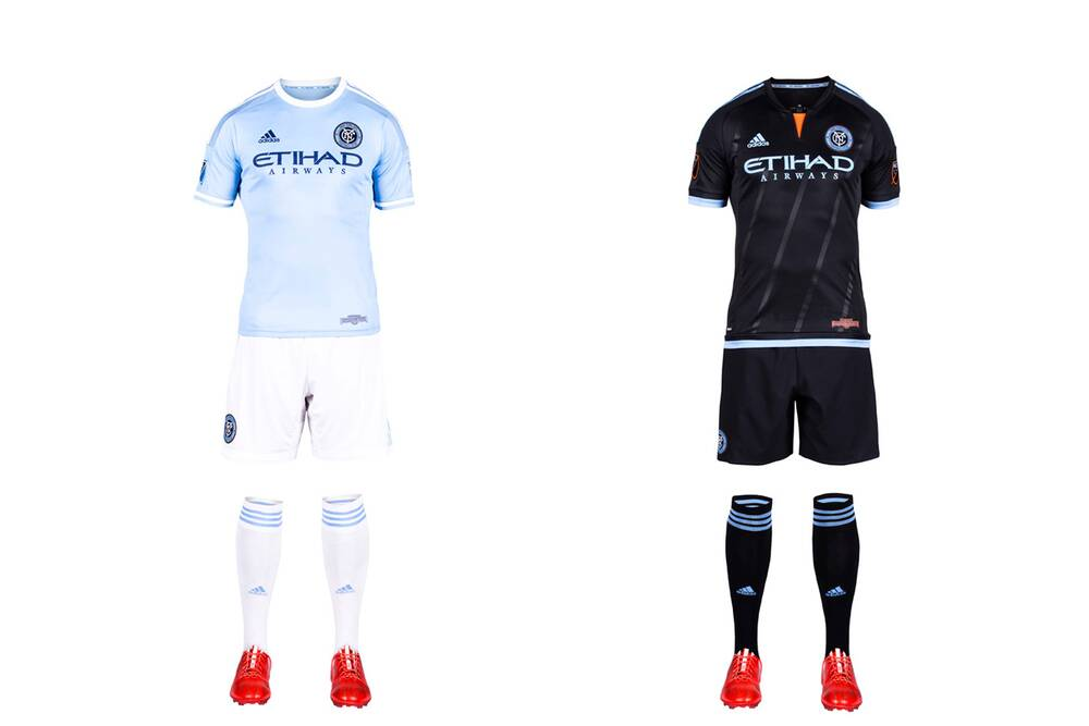 1438abfcaee New York City FC took some heat for its sky blue home shirt, which looks