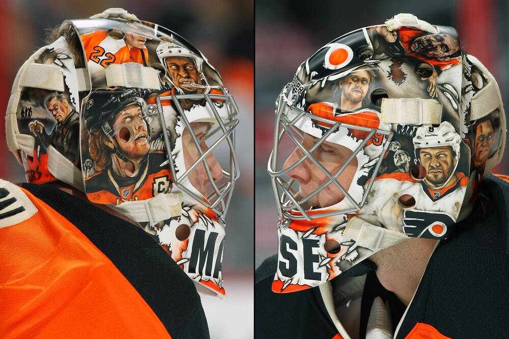 Top 25 Nhl Goalie Masks Of 2014 15 Si Com