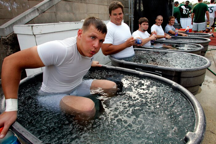 Image result for ice bathing recovery