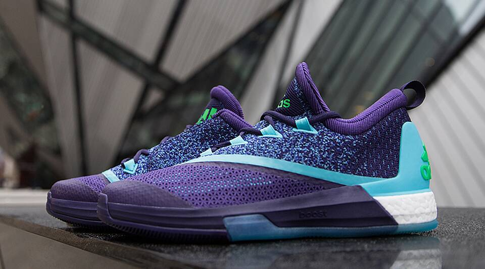 separation shoes 482f8 5fdbd NBA · Kicks and Colors Adidas celebrates All-Star game with Aurora  Borealis