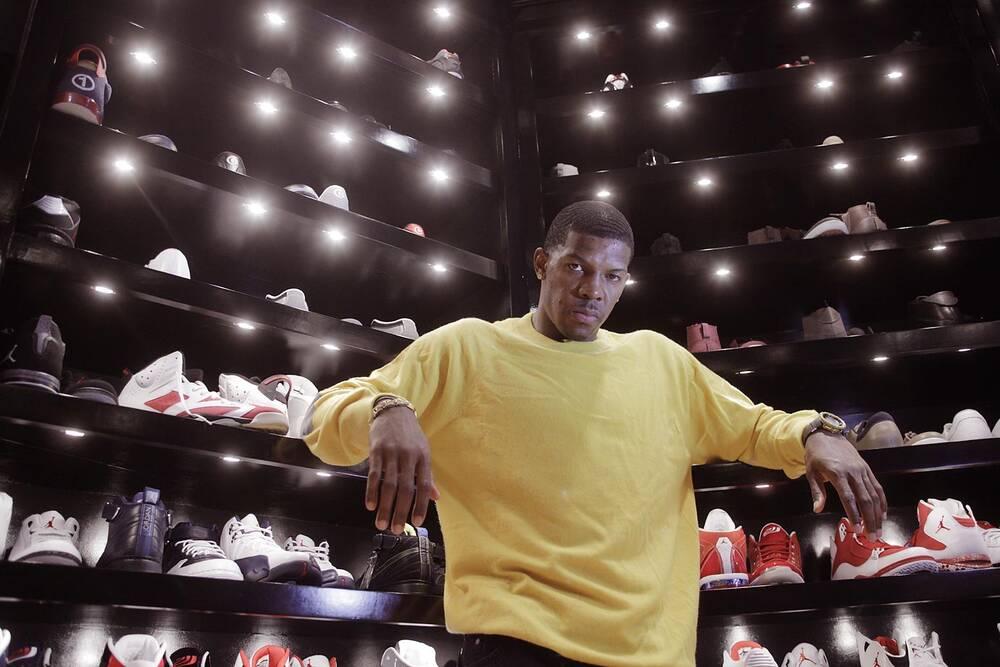 9f07f8a22d96 Joe Johnson s Sneaker Closet