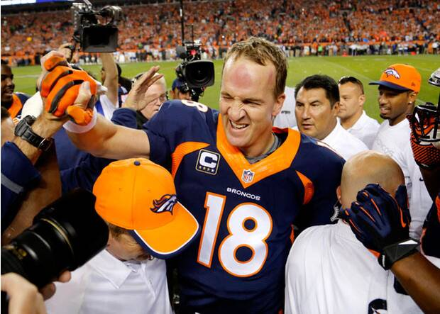 bca737f3ce Hot Clicks: Peyton Manning Becomes NFL Touchdown King | SI.com
