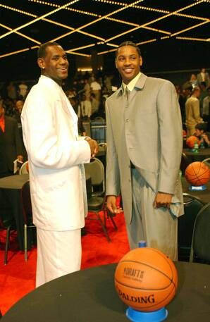 a3970198b4be DENVER -- It was seven seasons ago that rookies Carmelo Anthony and LeBron  James were cast as rivals. Now Anthony may make that rivalry come true.