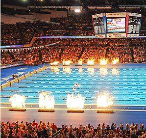 ap former hosts omaha and indianapolis are among six cities bidding to host the 2016 us olympic swimming trials
