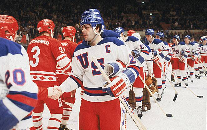 Mike Eruzione will part with his jersey but not the gold medal he won with  U.S. e480702ba