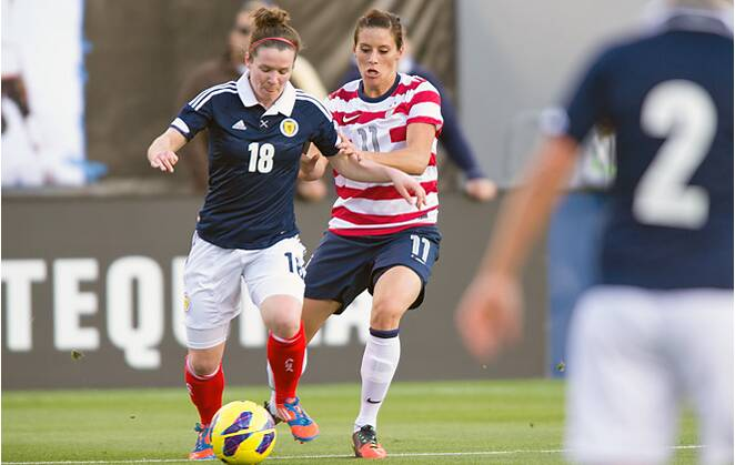 Mike McCall: Krieger's return sparks U S  by Scotland in