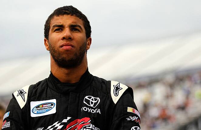 are there any black drivers in nascar