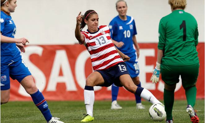 197225849ce Alex Morgan has more Twitter followers than any other U.S. soccer player,  male or female