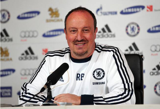 6b5281955f9 Rafa Benitez was announced as Napoli s new coach after wrapping up his  interim stint at Chelsea