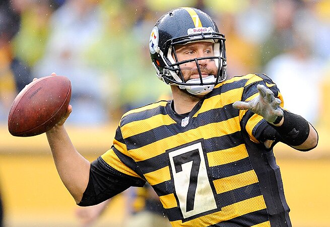 In Three Weeks Ben Roethlisberger Has Thrown For Nine Touchdowns And Only Interceptions