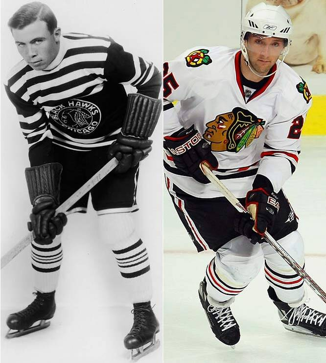 NHL Uniforms Old and New  b372d408997