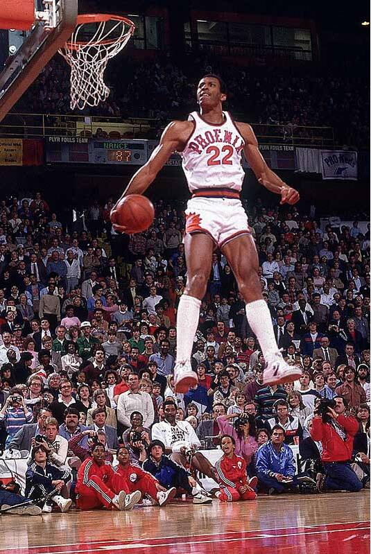 the latest 49143 c5808 Nance bested Julius Erving and Dominique Wilkins in the NBA s first dunk  contest. The nine