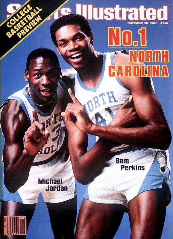 Michael Jordan Graced The Cover Of SI 49 Times This Was His First And Sam