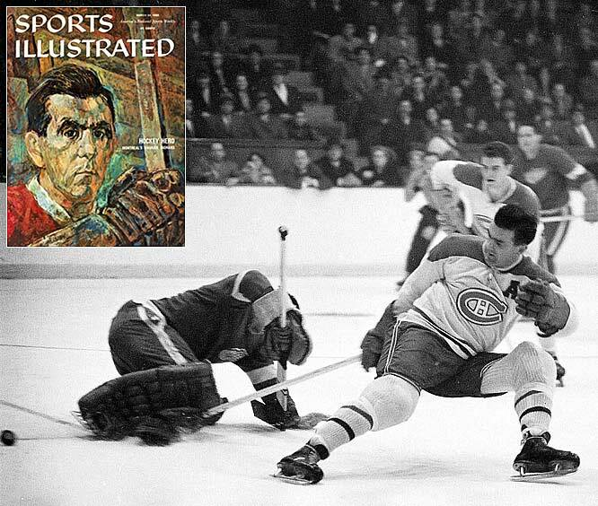 wholesale dealer a7ec9 c00d6 The Canadiens  Hall of Famer got his moniker in 1942 after teammate Ray  Getliffe remarked