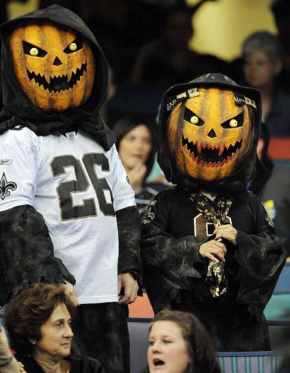 Nfl Fans On Halloween Si Com